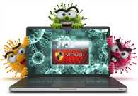 Beware laptops affected with undeletable virus
