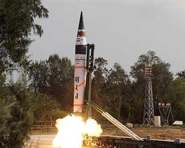 India's longest range ballistic missile Agni-5, successfully test-fired