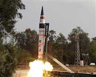India's longest range ballistic missile Agni-5, successfully test-fired