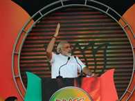 Narendra Modi's rally in Delhi
