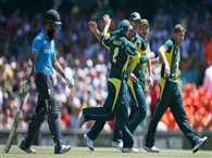 Tri series final match between australia and england