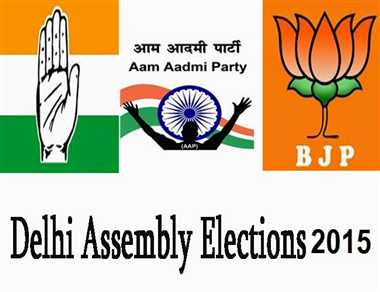 Delhi Assembly Election 2015: Most tainted  in BJP and AAP