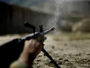 Firing of pak on border