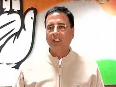 PM's speech today was a bundle of lies, says Randeep Surjewala