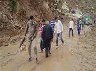 Rain stopped, Water level decreased in JK