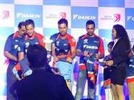 Delhi Daredevils launch thier new jersey for IPL 2015