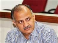 manish sisodia's announcement  on illegal colony