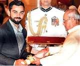 विराट कोहली, पीआर श्रीजेश और दीपा मलिक को मिला पद्म सम्मान