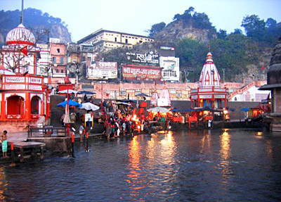 ganga is consider to bless ling life to humans