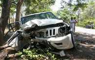 Collision Between Scorpio and Etios, Two Die, Two Injured