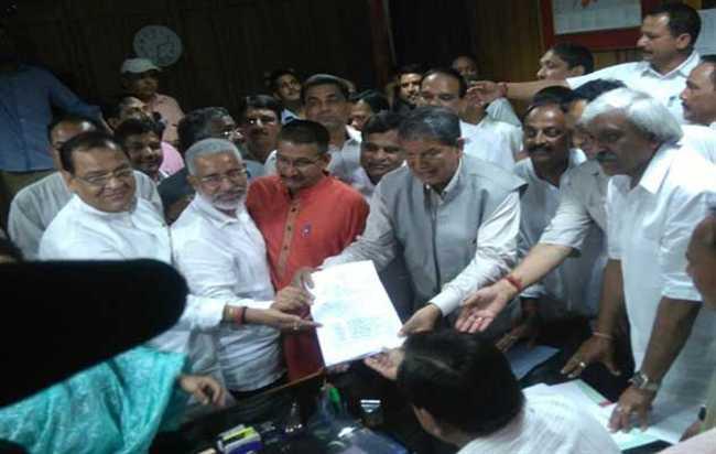 Congress Candidate Pradeep Tamta Nomination For Rajya Sabha Seat