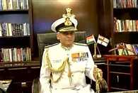 Admiral Sunil Lanba takes over as the new Chief of the Naval Staff