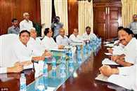up cabinate Meeting today, may  seal on many important issues