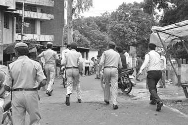On Bhagalpur  riot issue Government preparing action on 125 officers