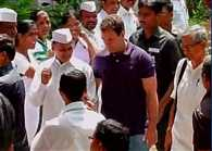 Rahul Gandhi reaches Pune, will go to FTII  meet students shortly