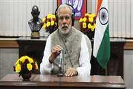 Prime Minister Narendra Modi speaking in Mann Ki Baat