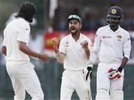 Sri Lanka loses 3 wickets in second innings while team India needs 7 wickets to win