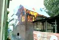 House of PDP Rajya Sabha MP set ablaze in South Kashmir