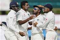 Ashwin slips in ICC Test rankings as Rahane static at 8th spot