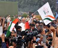 PM also takes part in 'Run for Unity Race'