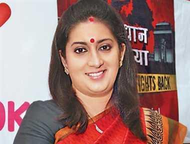 RSS leaders meet Smriti Irani, seek revamp   of India's education system