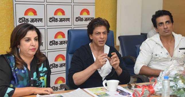 I don't have Salman's number - Shahrukh Khan