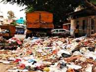 Hanuman Temple in garbage