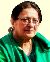 Wife Of Azam Khan Dr. Tanjim Is SP Rajyasabha Candidate