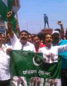 देखें तस्वीरें: अमरनाथ यात्रियों पर हमले के विरोध में हिंदू संगठनों में उबाल