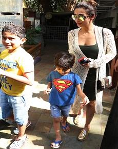 photos: बच्चों के लिए फिर साथ दिखे अरबाज़ ख़ान और मलायका अरोड़ा