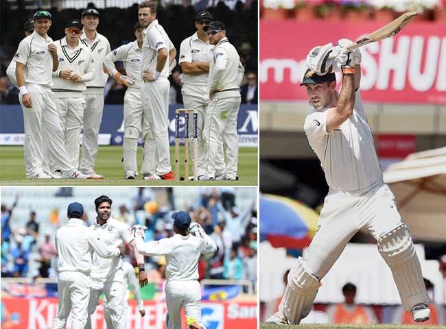 तस्वीरें : रांची में टेस्ट मैच खेलने के लिए उतरते ही ऑस्ट्रेलिया ने रच डाला यह इतिहास