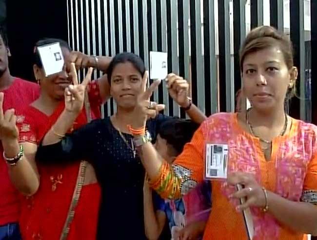 बीएमसी चुनाव:  227 सीटों पर मतदान जारी