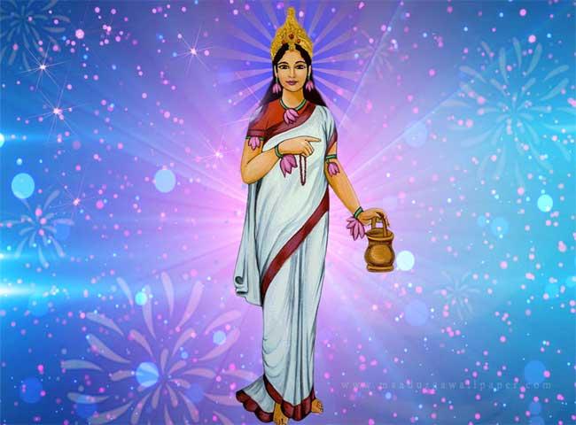 चैत्र नवरात्र के दूसरे दिन सजा माता का दरबार, देखें तस्वीरें