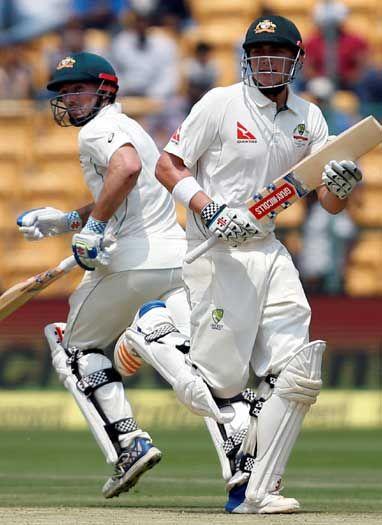 रेनशॉ और शॉन मार्श के दम पर ऑस्ट्रेलिया 200 के पार पहुंची
