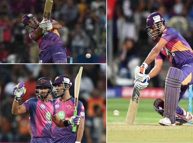 तस्वीरें : आखिरी 3 ओवरों में चाहिए थे 47 रन और फिर ऐसे गरजा धौनी का बल्ला