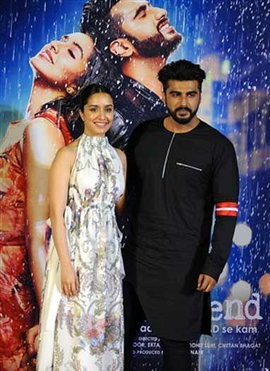 मुंबई में हुआ फिल्म 'हाफ गर्लफ्रेंड' का ट्रेलर लॉन्च
