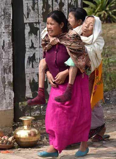 महिला दिवस पर मणिपुर में दिखा महिलाओं का दम