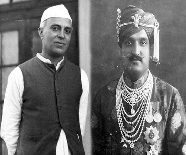 Image result for जवाहर लाल नेहरू और महाराजा हरि सिंह