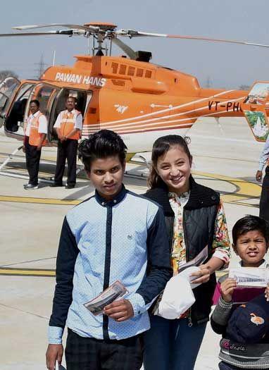 देश का पहला हेलीपोर्ट दिल्ली में शुरू
