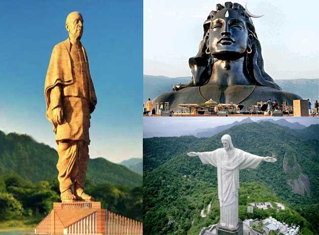 ये हैं दुनिया की सबसे ऊंची मूर्तियां, देखें तस्वीरें
