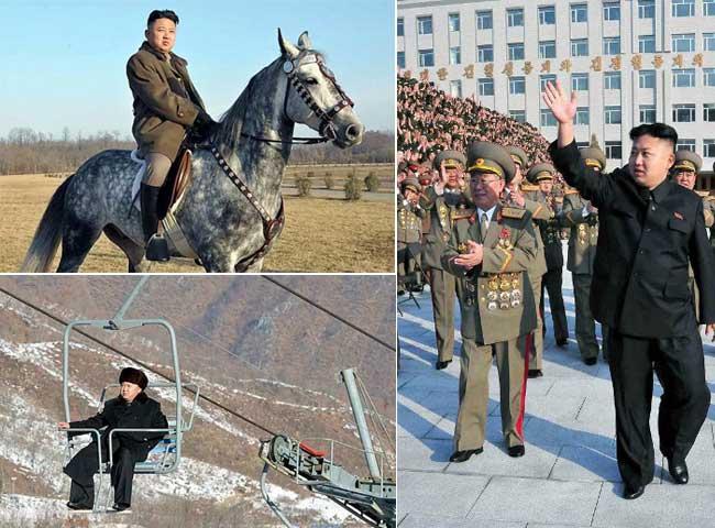 उत्तर कोरिया के तानाशाह किम जोंग का कुछ ऐसा है लाइफस्टाइल, देखें तस्वीरें