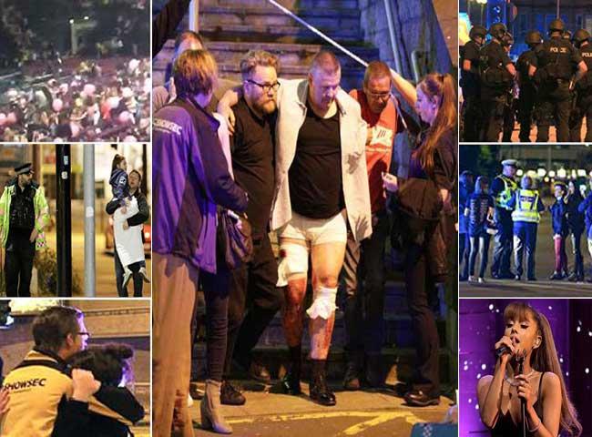 मैनचेस्टर एरीना में कंसर्ट के दौरान धमाका, देखें तस्वीरें