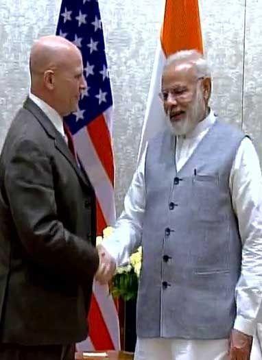 पीएम मोदी से मिले अमेरिकी NSA