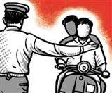 बिना हेलमेट के जा रहे व्यक्ति को रोका तो एएसआइ से की हाथापाई, वर्दी भी फाड़ी Ludhiana news