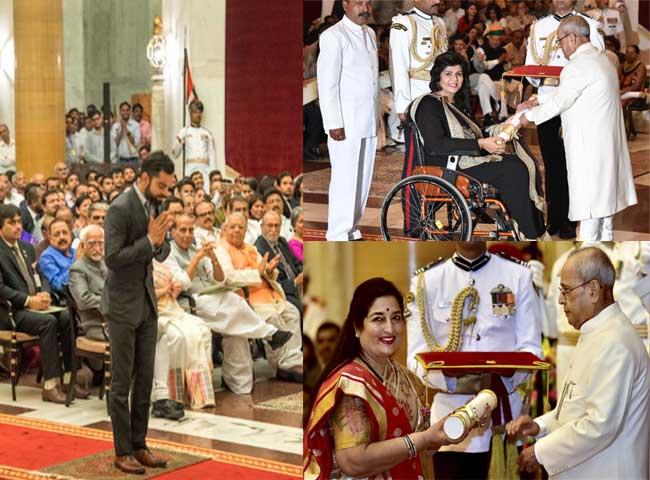 भारत की इन महान हस्तियों को मिला पद्म पुरस्कार, देखें तस्वीरें