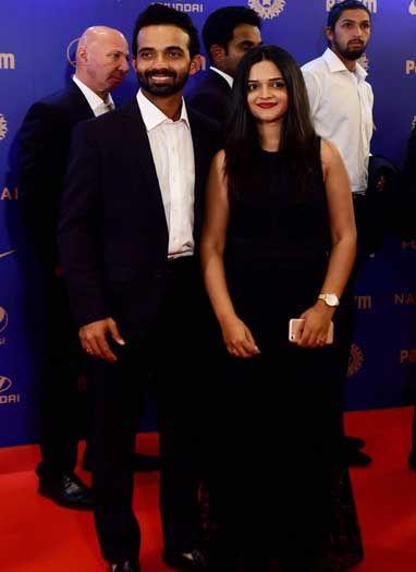 बीसीसीआई पुरस्कार समारोह में पहुंचे भारतीय क्रिकेटर