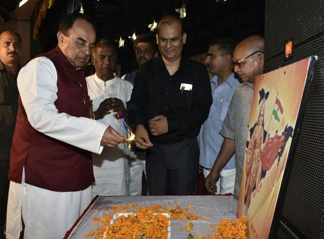 pics: पटना में विराट हिन्दू सम्मेलन में सुब्रह्मण्यम स्वामी