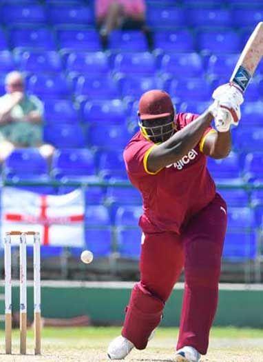 140 kg वजनी यह क्रिकेटर है वेस्टइंडीज का उभरता सितारा