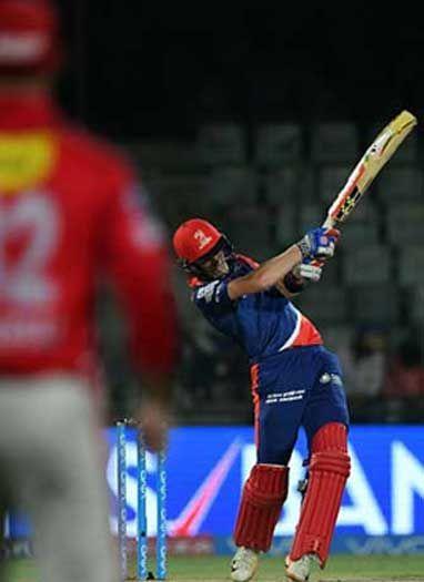 दिल्ली डेयरडेविल्स ने किंग्स इलेवन पंजाब को 51 रनों से रौंदा