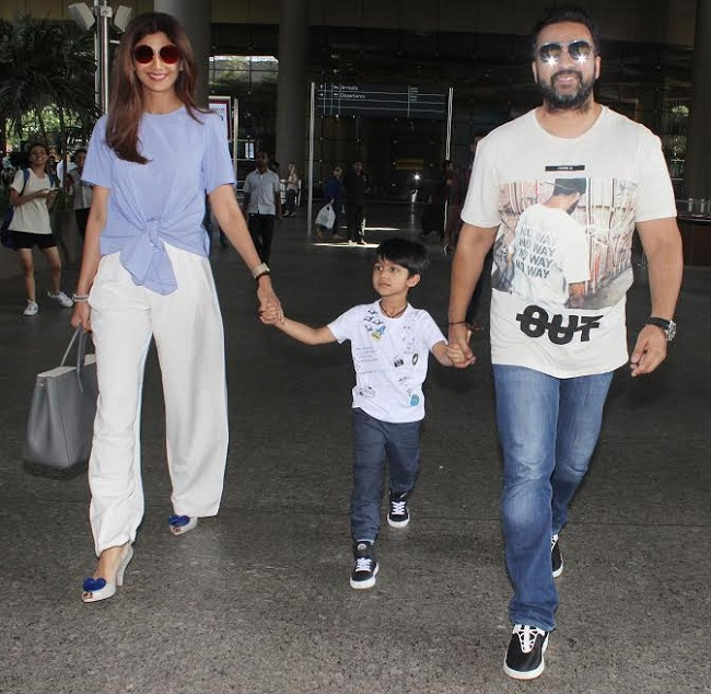 airport pics: शिल्पा शेट्टी फॅमिली के साथ तो वहीं आमिर और अजय देवगन भी दिखे बहुत दिनों बाद